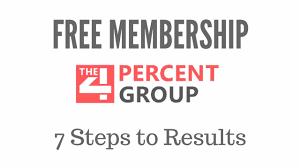 7 steps succes - free membership